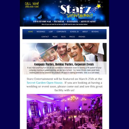 Starz Entertainment - Scottsdale AZ Wedding Disc Jockey Photo 1