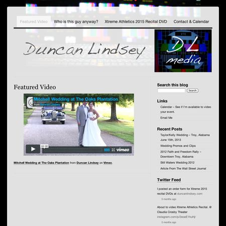 Duncan Lindsey Videography - Troy AL Wedding Videographer Photo 1