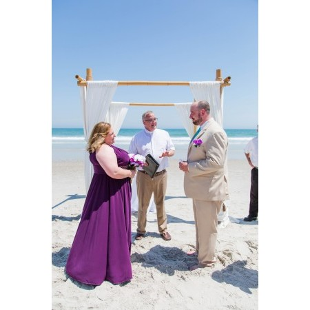 A Beach Wedding Minister - Weddings of Topsail - Wilmington NC Wedding Officiant / Clergy Photo 7