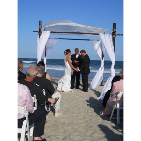 A Beach Wedding Minister - Weddings of Topsail - Wilmington NC Wedding Officiant / Clergy Photo 8