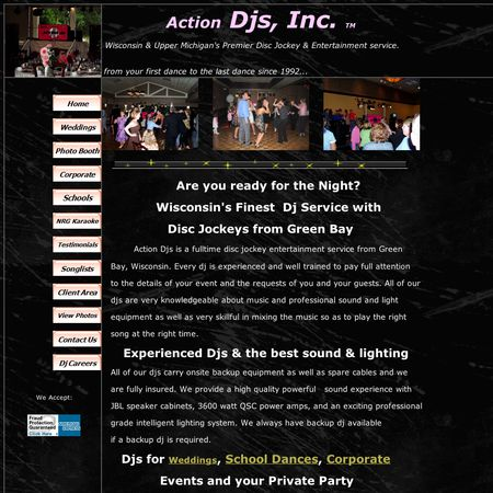 Action Djs, Inc. - Green Bay WI Wedding Disc Jockey Photo 1