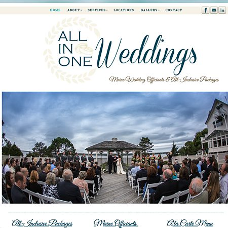 All In One Weddings of Maine - Portland ME Wedding Officiant / Clergy Photo 1