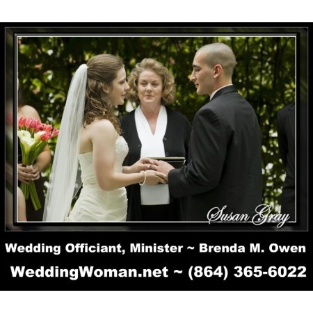 Brenda M Owen Wedding Officiant & Minister - Greenville SC Wedding Officiant / Clergy Photo 2