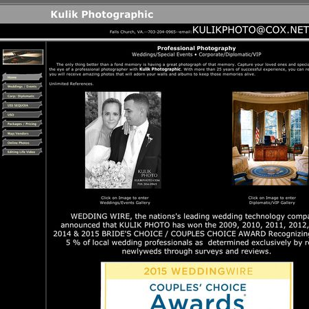 Kulik Photographic - Falls Church VA Wedding Photographer Photo 1