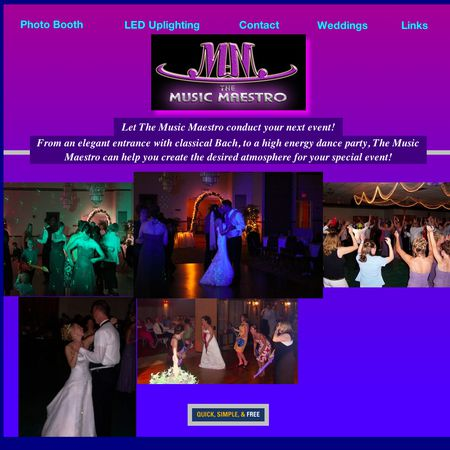 The Music Maestro and Photobooth2go - Mosinee WI Wedding Disc Jockey Photo 1