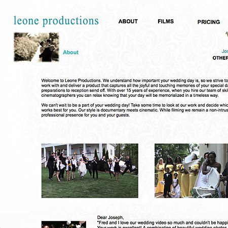 Leone Productions - Atlanta GA Wedding Videographer Photo 1
