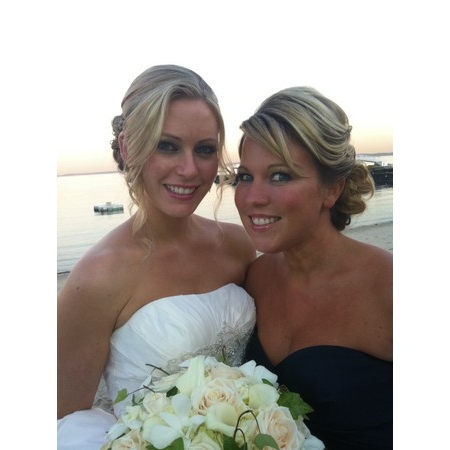 Airbrush Beauty At Your Door * On Location Make-up & Hair - Stamford CT Wedding Hair / Makeup Stylist Photo 3