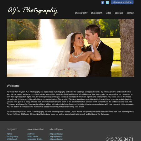AJ's Photography - New Hartford NY Wedding Photographer Photo 1