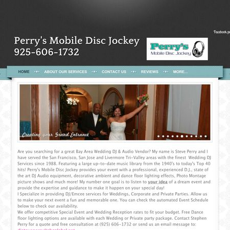 Perry's Mobile Disc Jockey - Livermore CA Wedding Disc Jockey Photo 1