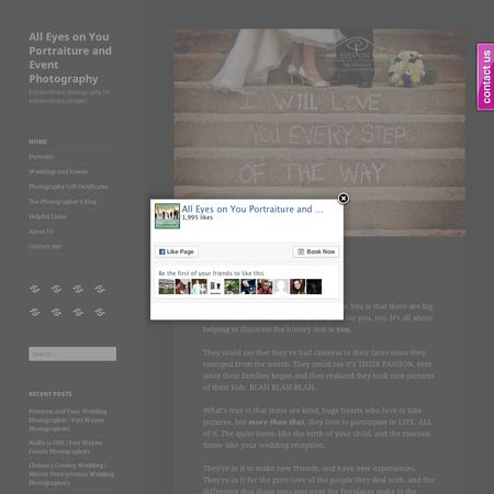 All Eyes on You Photography and Design - Wabash IN Wedding Photographer Photo 1