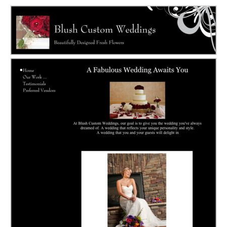 Blush Custom Weddings and Events - Mentor OH Wedding Florist Photo 1