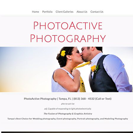 PhotoActive Photography - Tampa FL Wedding Photographer Photo 1