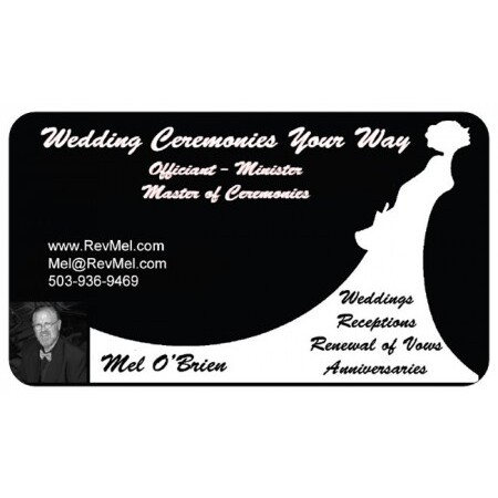 Wedding Ceremonies Your Way - Officiate/Minister - Portland OR Wedding Officiant / Clergy Photo 22