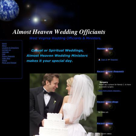 Almost Heaven Wedding Ministers - Fairmont WV Wedding Officiant / Clergy Photo 1