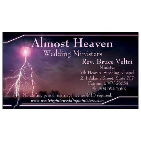 Almost Heaven Wedding Ministers - Fairmont WV Wedding Officiant / Clergy Photo 15