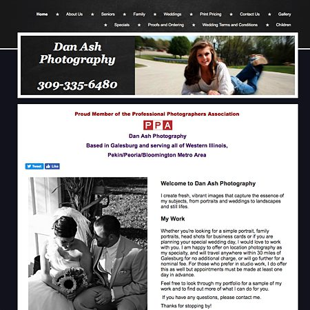 Dan Ash Photography - Galesburg IL Wedding Photographer Photo 1