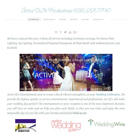 Active DJ's - Washington MO Wedding Disc Jockey Photo 1