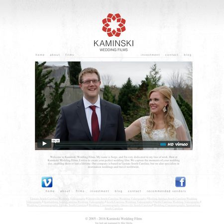 Kaminski Wedding Films - Greenville SC Wedding Videographer Photo 1