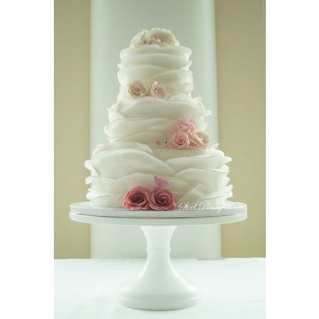 Steel Penny Cakes - Mount Pleasant PA Wedding Cake Photo 1