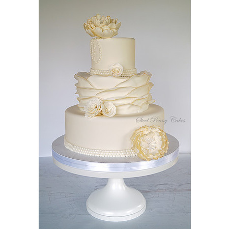 Steel Penny Cakes - Mount Pleasant PA Wedding Cake Photo 2