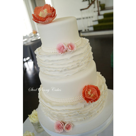 Steel Penny Cakes - Mount Pleasant PA Wedding Cake Photo 3