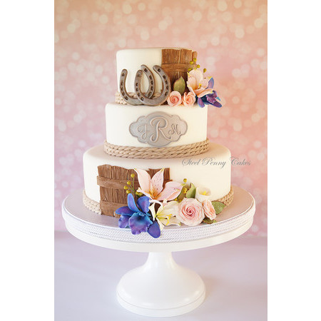 Steel Penny Cakes - Mount Pleasant PA Wedding Cake Photo 4