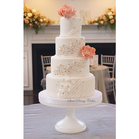 Steel Penny Cakes - Mount Pleasant PA Wedding Cake Photo 5