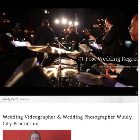 Windy City Production - Aurora IL Wedding Videographer Photo 1