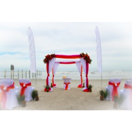 Affordable Beach Wedding - New Smyrna Beach FL Wedding Ceremony Site Photo 1