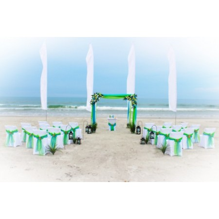 Affordable Beach Wedding - New Smyrna Beach FL Wedding Ceremony Site Photo 2