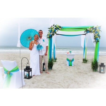 Affordable Beach Wedding - New Smyrna Beach FL Wedding Ceremony Site Photo 3