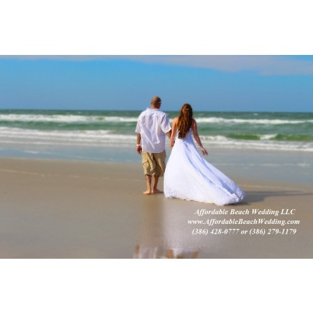 Affordable Beach Wedding - New Smyrna Beach FL Wedding Ceremony Site Photo 4