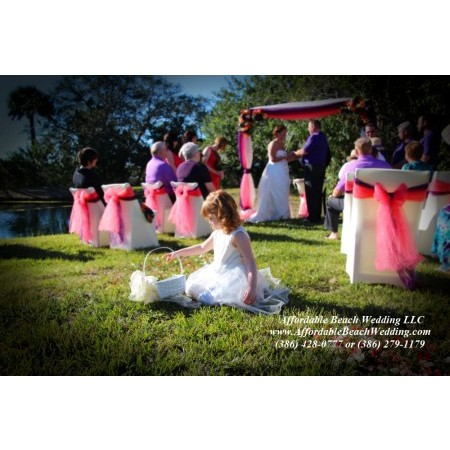 Affordable Beach Wedding - New Smyrna Beach FL Wedding Ceremony Site Photo 8