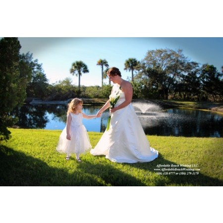 Affordable Beach Wedding - New Smyrna Beach FL Wedding Ceremony Site Photo 9