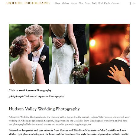 Aperture Photography - Albany NY Wedding Photographer Photo 1