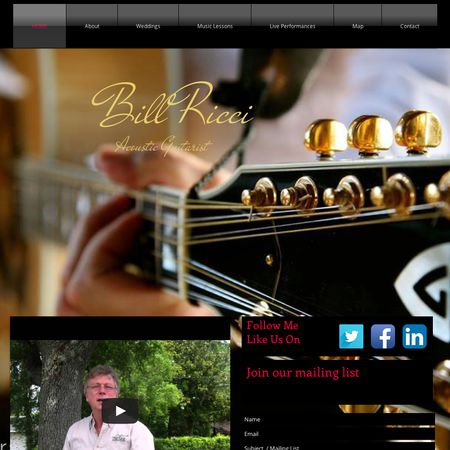 Bill Ricci - The Solo Guitarist - Jacksonville FL Wedding Ceremony Musician Photo 1