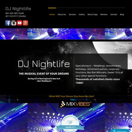 Nightlife DJ's - Boston MA Wedding Disc Jockey Photo 1