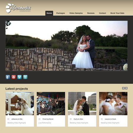Apex Media - Orlando FL Wedding Videographer Photo 1