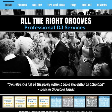 All The Right Grooves DJ Service - Charlotte NC Wedding Disc Jockey Photo 1