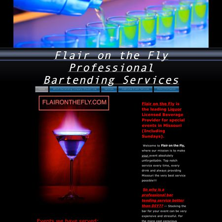 Flair on the Fly Professional Bartending Services - Columbia MO Wedding Caterer Photo 1