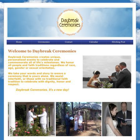 Daybreak Ceremonies - Southern Pines NC Wedding Officiant / Clergy Photo 1