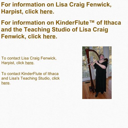 Lisa Craig Fenwick, Harpist - Ithaca NY Wedding Ceremony Musician Photo 1