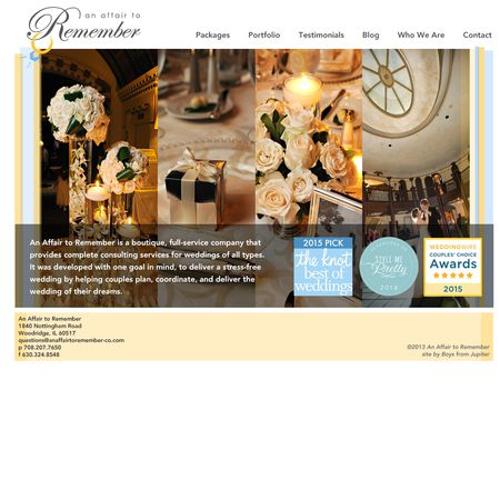 An Affair to Remember - Downers Grove IL Wedding Planner / Coordinator Photo 1