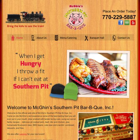 Southern Pit BBQ - Griffin GA Wedding Reception Site Photo 1