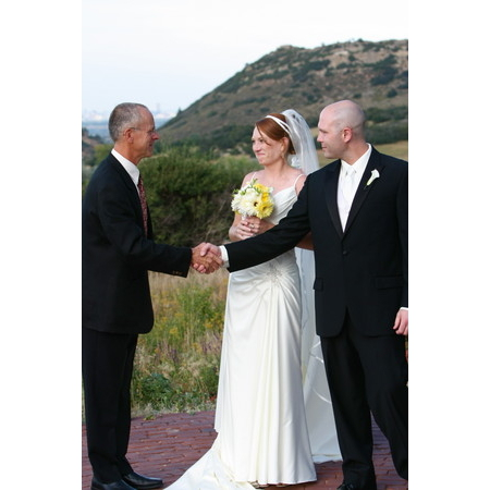 Embracing Ceremony - El Prado NM Wedding Officiant / Clergy Photo 1