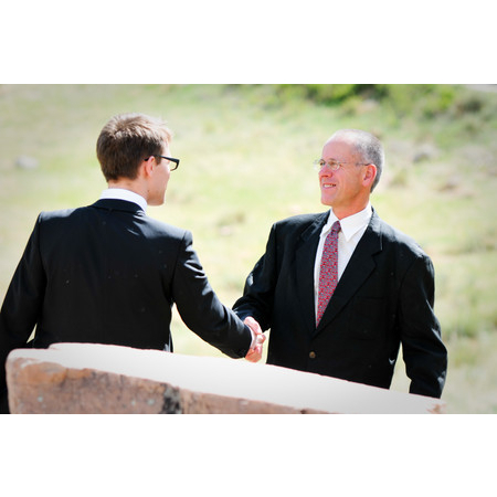 Embracing Ceremony - El Prado NM Wedding Officiant / Clergy Photo 10