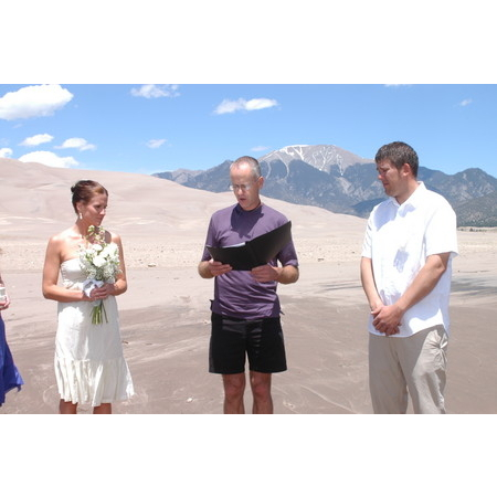 Embracing Ceremony - El Prado NM Wedding Officiant / Clergy Photo 2