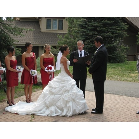 Embracing Ceremony - El Prado NM Wedding Officiant / Clergy Photo 4