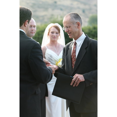 Embracing Ceremony - El Prado NM Wedding Officiant / Clergy Photo 6