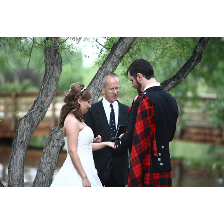 Embracing Ceremony - El Prado NM Wedding Officiant / Clergy Photo 8